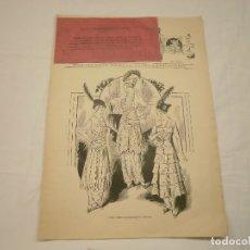 Coleccionismo de Revistas y Periódicos: EL SALON DE LA MODA. REVISTA DE MODA DE PARIS. 1914. CON AVISO 1ª GUERRA MUNDIAL. Lote 178604483