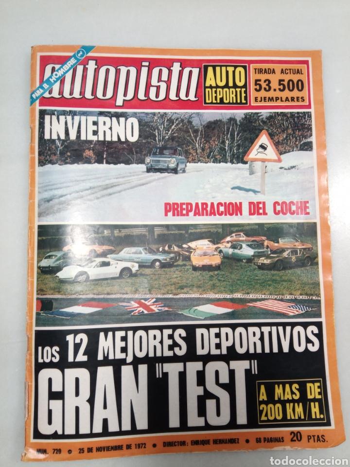 REVISTA AUTOPISTA 1972. (Coleccionismo - Revistas y Periódicos Modernos (a partir de 1.940) - Otros)