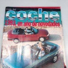 Coleccionismo de Revistas y Periódicos: GUIA DEL COCHE. 1993. Lote 178609727