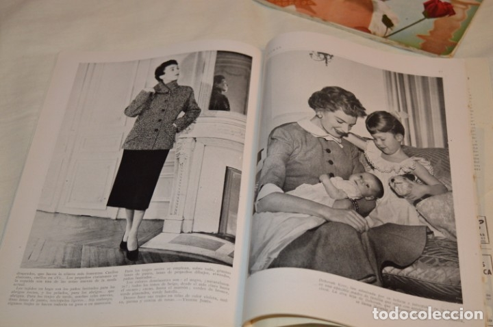 Coleccionismo de Revistas y Periódicos: Año 1952, lote de 4 revistas LETRAS, revista del hogar, SEPT/OCTUB/NOVIEN/DICIEN - ¡HAZ OFERTA! - Foto 8 - 178610942