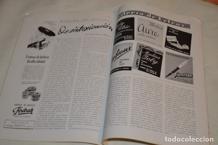Coleccionismo de Revistas y Periódicos: Año 1952, lote de 4 revistas LETRAS, revista del hogar, SEPT/OCTUB/NOVIEN/DICIEN - ¡HAZ OFERTA! - Foto 12 - 178610942