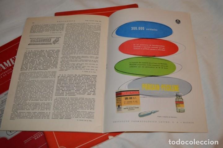 Coleccionismo de Revistas y Periódicos: Años 40/50, lote de 5 revistas MEDICAMENTA, para profesionales ciencia médica - ¡HAZ OFERTA! - Foto 2 - 178613043