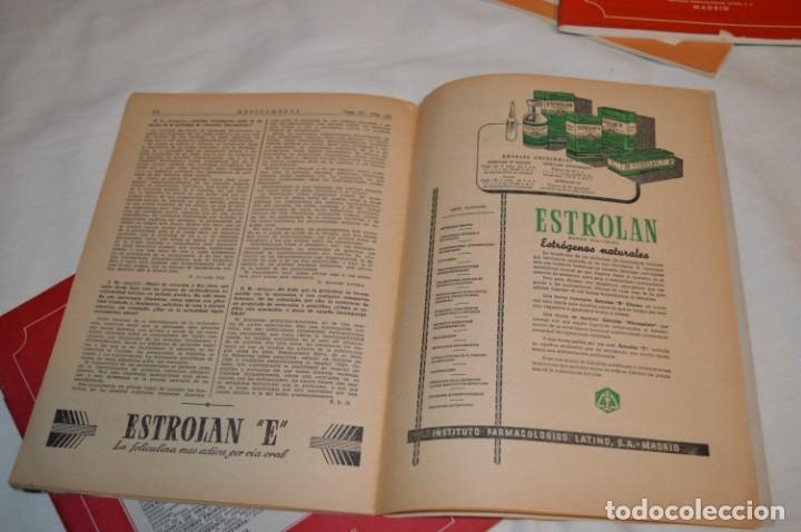 Coleccionismo de Revistas y Periódicos: Años 40/50, lote de 5 revistas MEDICAMENTA, para profesionales ciencia médica - ¡HAZ OFERTA! - Foto 9 - 178613043