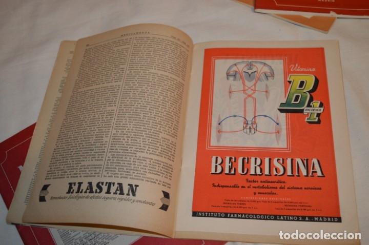 Coleccionismo de Revistas y Periódicos: Años 40/50, lote de 5 revistas MEDICAMENTA, para profesionales ciencia médica - ¡HAZ OFERTA! - Foto 10 - 178613043