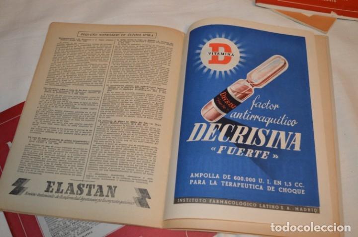 Coleccionismo de Revistas y Periódicos: Años 40/50, lote de 5 revistas MEDICAMENTA, para profesionales ciencia médica - ¡HAZ OFERTA! - Foto 11 - 178613043