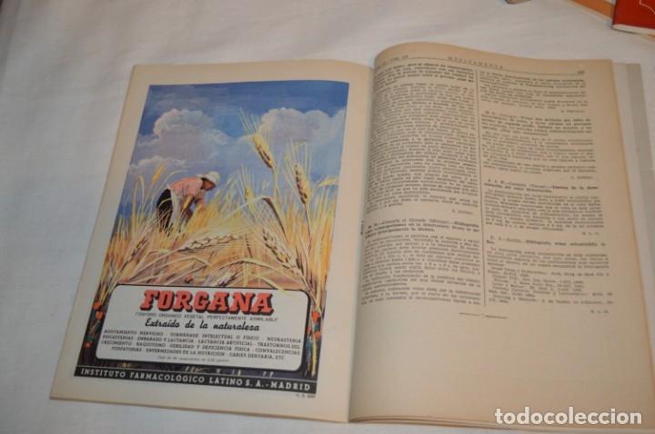 Coleccionismo de Revistas y Periódicos: Años 40/50, lote de 5 revistas MEDICAMENTA, para profesionales ciencia médica - ¡HAZ OFERTA! - Foto 12 - 178613043