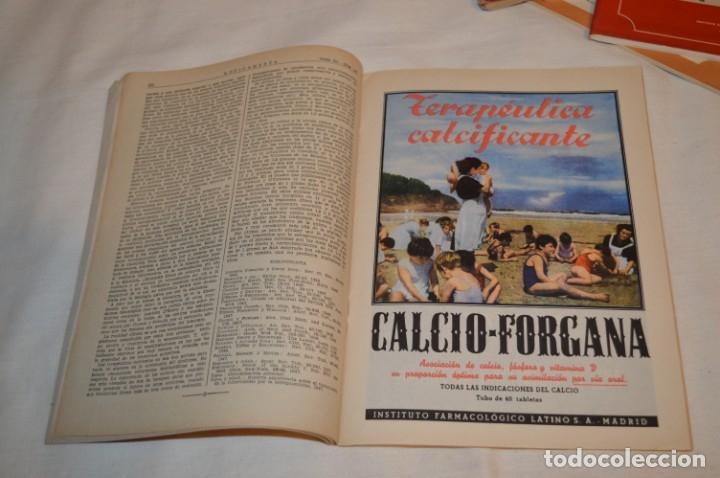 Coleccionismo de Revistas y Periódicos: Años 40/50, lote de 5 revistas MEDICAMENTA, para profesionales ciencia médica - ¡HAZ OFERTA! - Foto 13 - 178613043