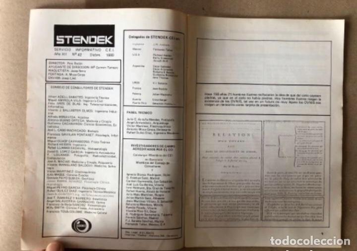 Coleccionismo de Revistas y Periódicos: STENDEK, SERVICIO INFORMATIVO C.E.I. - LOTE DE 6 REVISTAS - N° 37, 38, 40, 41, 42 y 45. - Foto 16 - 178628652