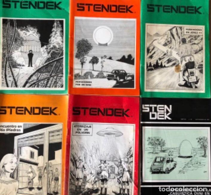 STENDEK, SERVICIO INFORMATIVO C.E.I. - LOTE DE 6 REVISTAS - N° 37, 38, 40, 41, 42 Y 45. (Coleccionismo - Revistas y Periódicos Modernos (a partir de 1.940) - Otros)