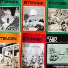Coleccionismo de Revistas y Periódicos: STENDEK, SERVICIO INFORMATIVO C.E.I. - LOTE DE 6 REVISTAS - N° 37, 38, 40, 41, 42 Y 45.. Lote 178628652