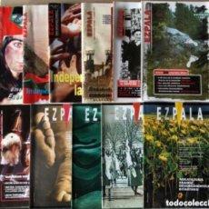 Coleccionismo de Revistas y Periódicos: EZPALA - LOTE DE 11 REVISTAS DE LA IZQUIERDA ABERTZALE (1997-1999) - HERRI BATASUNA. VER DESCRIPCIÓN. Lote 178629005