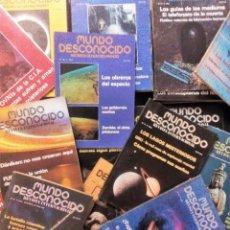 Coleccionismo de Revistas y Periódicos: MUNDO DESCONOCIDO. LOTE DE 37 REVISTAS ENTRE EL Nº 20 Y EL 75. (1978-1982). VER FOTOGRAFÍAS.. Lote 178629185