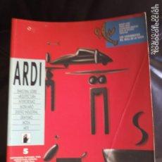 Coleccionismo de Revistas y Periódicos: ARDI N 5. Lote 178641612