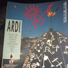 Coleccionismo de Revistas y Periódicos: ARDI N 17. Lote 178655275