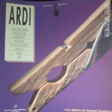 Coleccionismo de Revistas y Periódicos: ARDI N 19. Lote 178655573