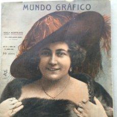 Coleccionismo de Revistas y Periódicos: MUNDO GRÁFICO Nº 86. Lote 178666022