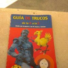 Coleccionismo de Revistas y Periódicos: ANTIGUA GUÍA DE TRUCOS DE LA A A LA Z - VIDEOJUEGOS DE 1996 - MC EDICIONES S.A. Lote 178718558