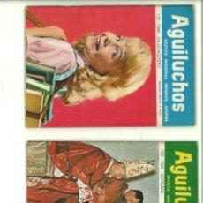 Coleccionismo de Revistas y Periódicos: AGUILUCHOS. 4 NÚMEROS. 1968. Lote 178762765