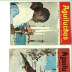 Coleccionismo de Revistas y Periódicos: AGUILUCHOS. 4 NÚMEROS. 1968. Lote 178763286