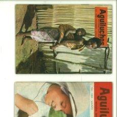 Coleccionismo de Revistas y Periódicos: AGUILUCHOS. 4 NÚMEROS. 1969. Lote 178763947