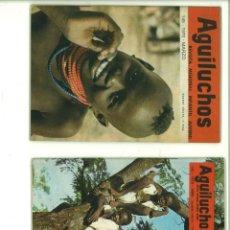 Coleccionismo de Revistas y Periódicos: AGUILUCHOS. 6 NÚMEROS. 1970-72. Lote 178768675