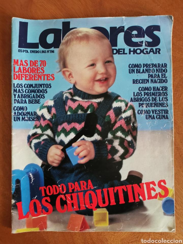 Coleccionismo de Revistas y Periódicos: LABORES DEL HOGAR LOTE 34 REVISTAS Y PATRONES DE DIFERENTES ÉPOCAS - Foto 4 - 178782031