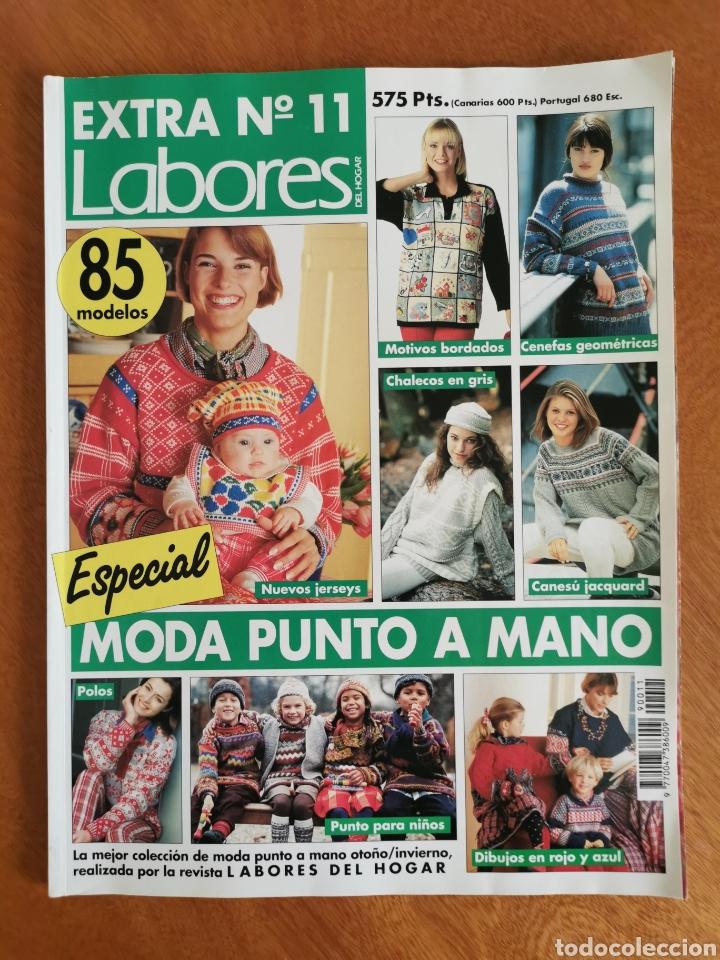 Coleccionismo de Revistas y Periódicos: LABORES DEL HOGAR LOTE 34 REVISTAS Y PATRONES DE DIFERENTES ÉPOCAS - Foto 6 - 178782031