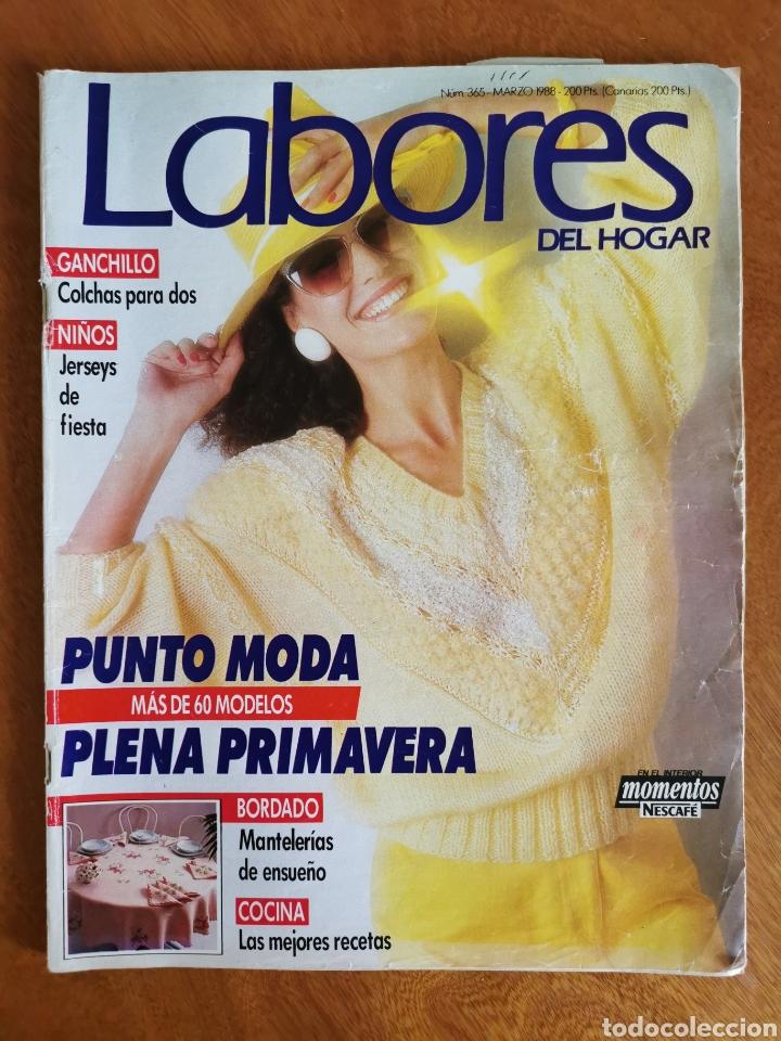 Coleccionismo de Revistas y Periódicos: LABORES DEL HOGAR LOTE 34 REVISTAS Y PATRONES DE DIFERENTES ÉPOCAS - Foto 7 - 178782031