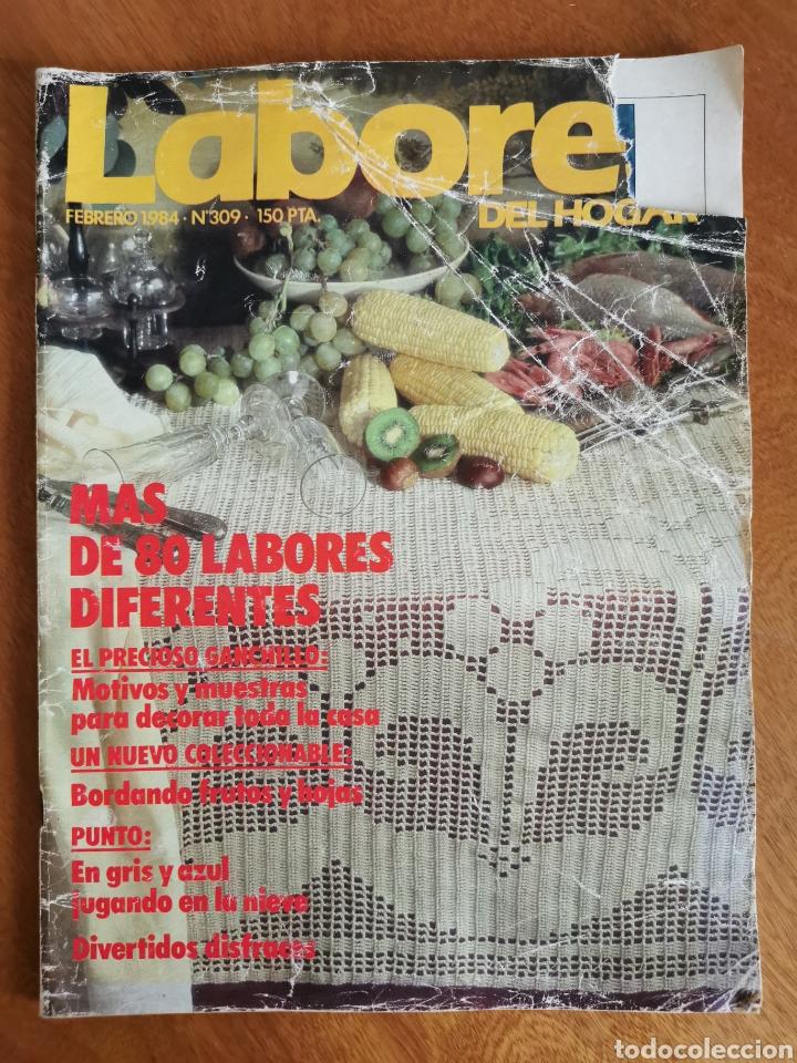 Coleccionismo de Revistas y Periódicos: LABORES DEL HOGAR LOTE 34 REVISTAS Y PATRONES DE DIFERENTES ÉPOCAS - Foto 8 - 178782031