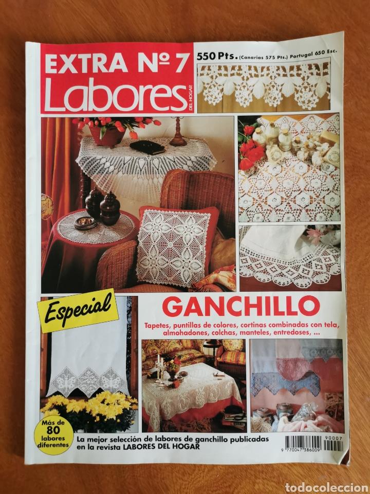 Coleccionismo de Revistas y Periódicos: LABORES DEL HOGAR LOTE 34 REVISTAS Y PATRONES DE DIFERENTES ÉPOCAS - Foto 10 - 178782031