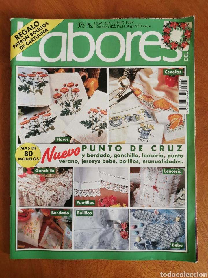 Coleccionismo de Revistas y Periódicos: LABORES DEL HOGAR LOTE 34 REVISTAS Y PATRONES DE DIFERENTES ÉPOCAS - Foto 16 - 178782031