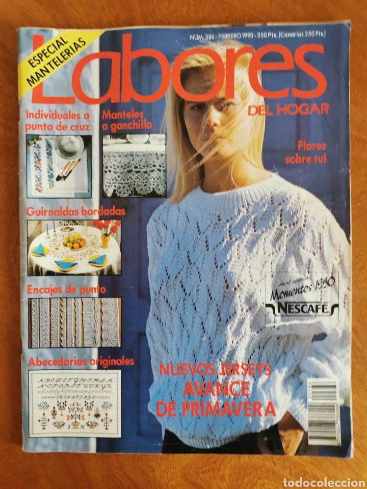 Coleccionismo de Revistas y Periódicos: LABORES DEL HOGAR LOTE 34 REVISTAS Y PATRONES DE DIFERENTES ÉPOCAS - Foto 17 - 178782031