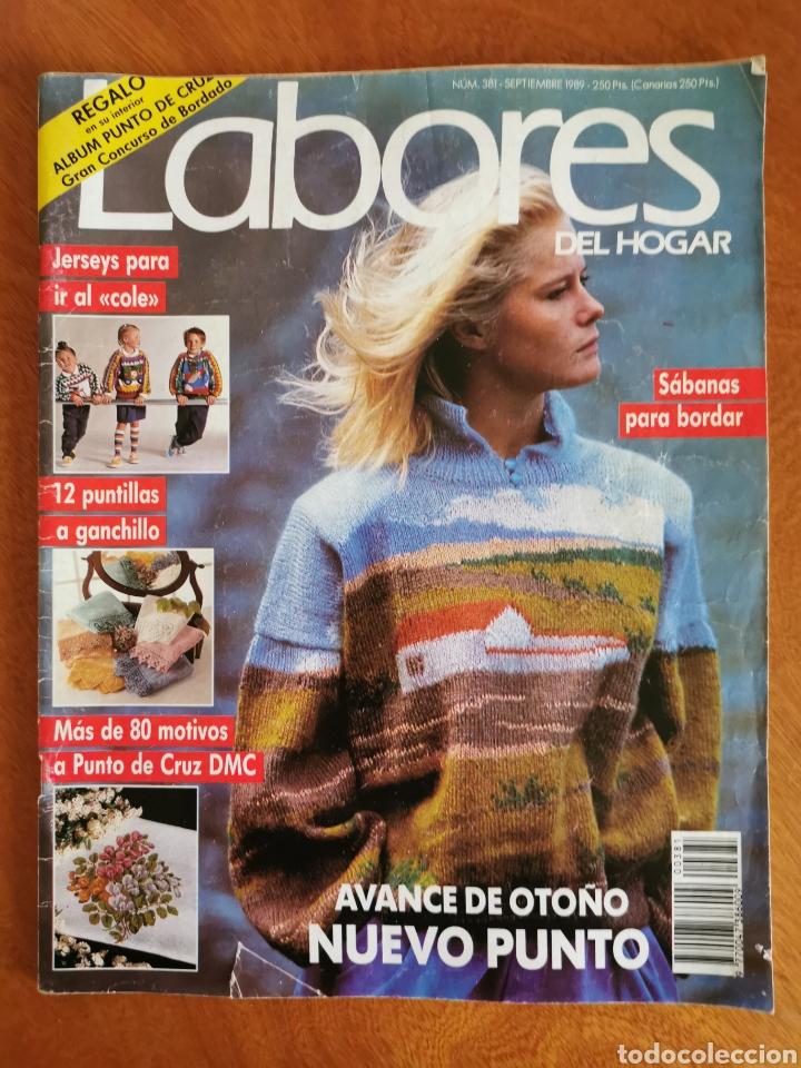 Coleccionismo de Revistas y Periódicos: LABORES DEL HOGAR LOTE 34 REVISTAS Y PATRONES DE DIFERENTES ÉPOCAS - Foto 19 - 178782031