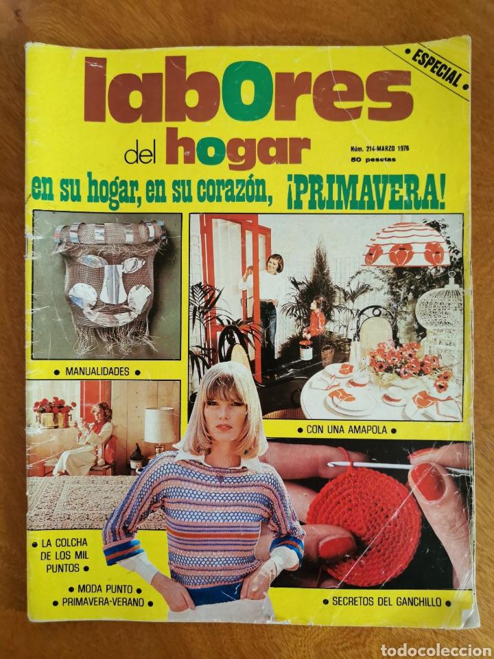 Coleccionismo de Revistas y Periódicos: LABORES DEL HOGAR LOTE 34 REVISTAS Y PATRONES DE DIFERENTES ÉPOCAS - Foto 24 - 178782031