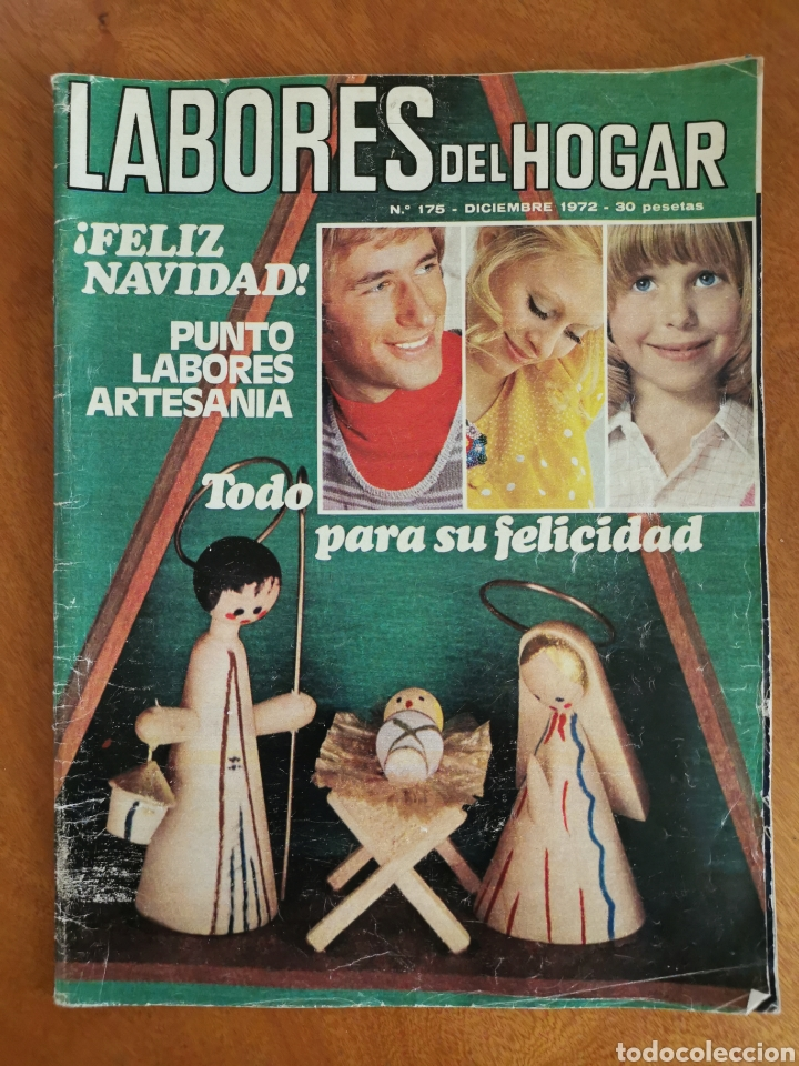Coleccionismo de Revistas y Periódicos: LABORES DEL HOGAR LOTE 34 REVISTAS Y PATRONES DE DIFERENTES ÉPOCAS - Foto 25 - 178782031