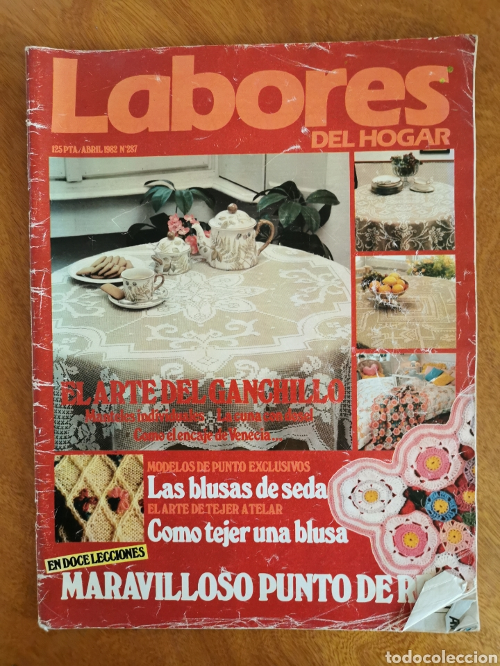 Coleccionismo de Revistas y Periódicos: LABORES DEL HOGAR LOTE 34 REVISTAS Y PATRONES DE DIFERENTES ÉPOCAS - Foto 26 - 178782031