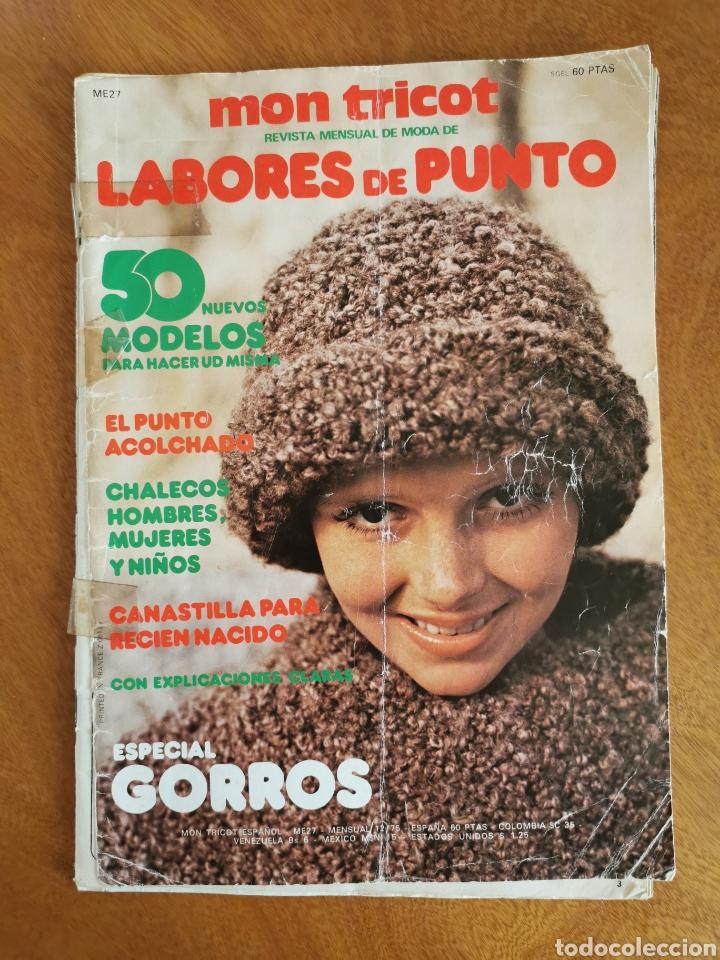 Coleccionismo de Revistas y Periódicos: LABORES DEL HOGAR LOTE 34 REVISTAS Y PATRONES DE DIFERENTES ÉPOCAS - Foto 27 - 178782031