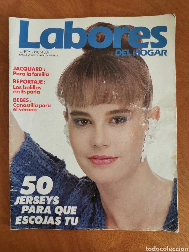 Coleccionismo de Revistas y Periódicos: LABORES DEL HOGAR LOTE 34 REVISTAS Y PATRONES DE DIFERENTES ÉPOCAS - Foto 28 - 178782031