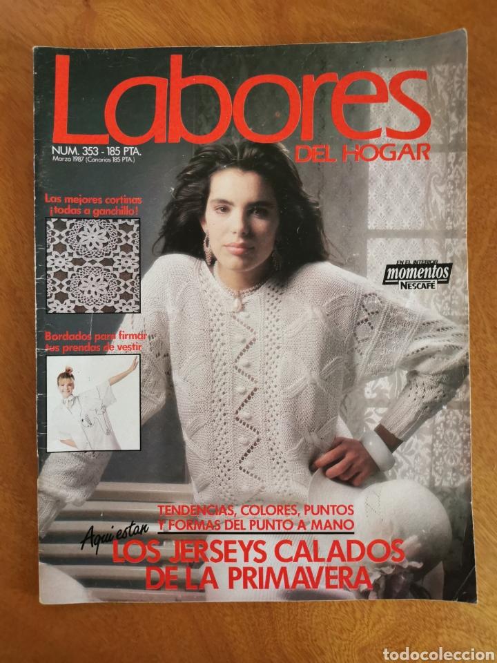 Coleccionismo de Revistas y Periódicos: LABORES DEL HOGAR LOTE 34 REVISTAS Y PATRONES DE DIFERENTES ÉPOCAS - Foto 29 - 178782031