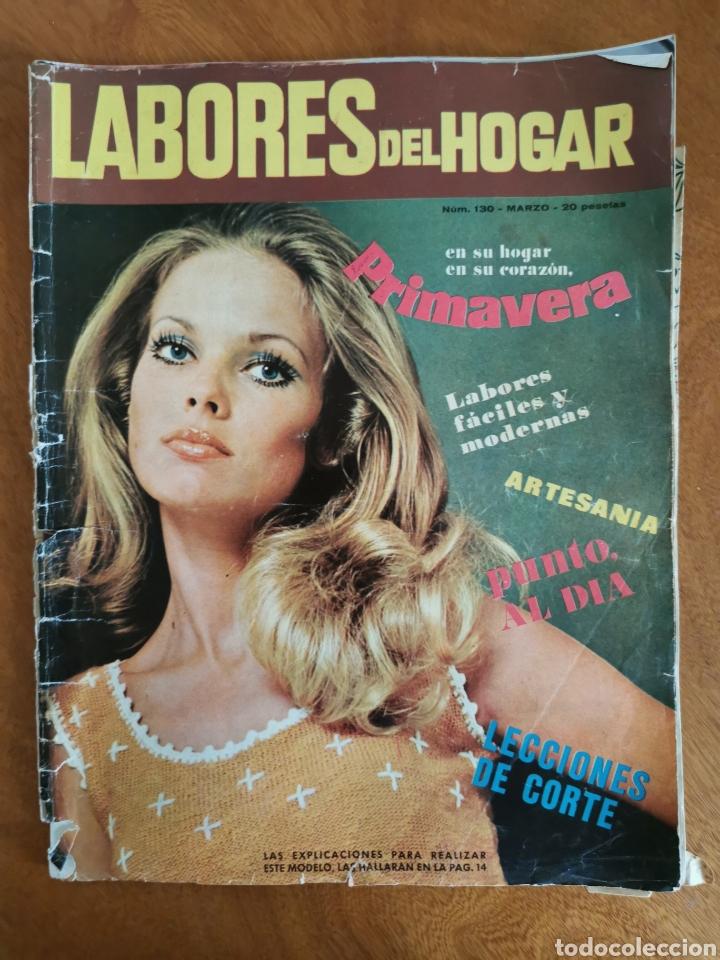 Coleccionismo de Revistas y Periódicos: LABORES DEL HOGAR LOTE 34 REVISTAS Y PATRONES DE DIFERENTES ÉPOCAS - Foto 32 - 178782031