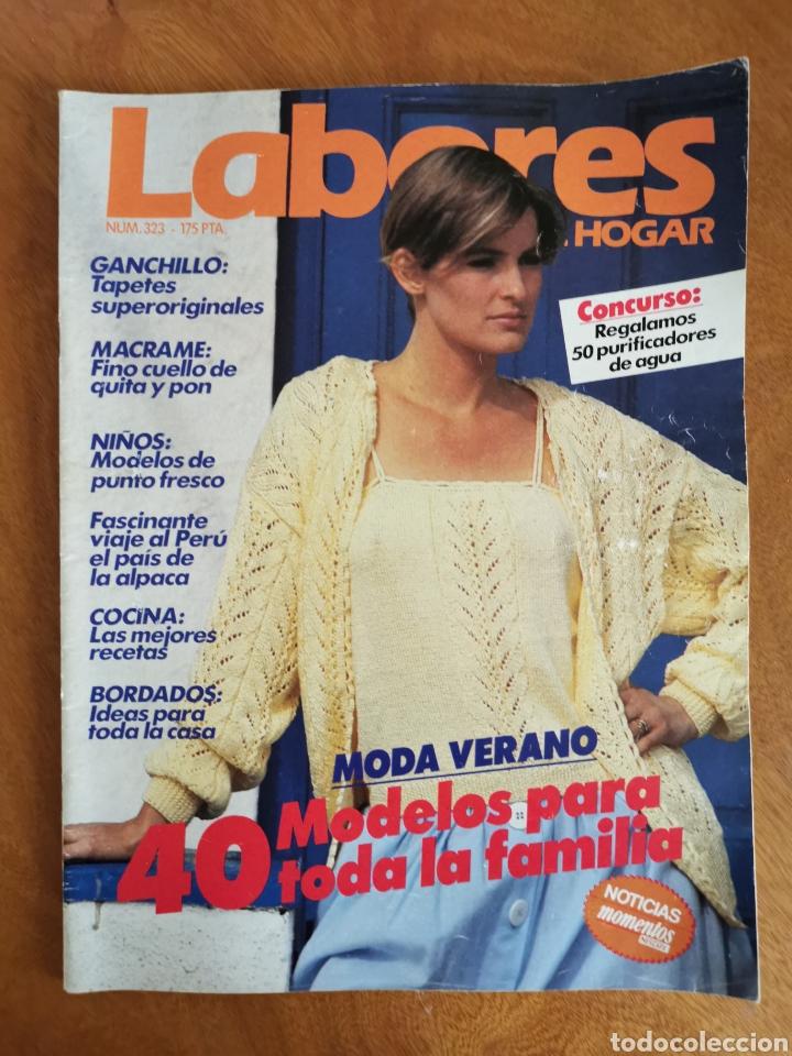 Coleccionismo de Revistas y Periódicos: LABORES DEL HOGAR LOTE 34 REVISTAS Y PATRONES DE DIFERENTES ÉPOCAS - Foto 33 - 178782031