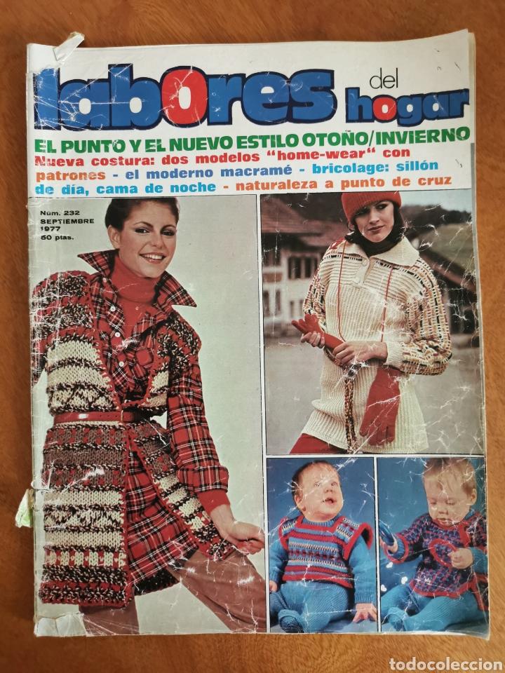 Coleccionismo de Revistas y Periódicos: LABORES DEL HOGAR LOTE 34 REVISTAS Y PATRONES DE DIFERENTES ÉPOCAS - Foto 34 - 178782031