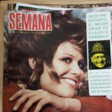 Coleccionismo de Revistas y Periódicos: REVISTAS SEMANA 1970 1971. Lote 178810742