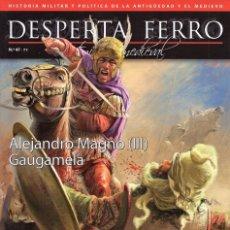 Coleccionismo de Revistas y Periódicos: DESPERTA FERRO ANTIGUA Y MEDIEVAL N. 47 - EN PORTADA: ALEJANDRO MAGNO (III). Lote 178851481