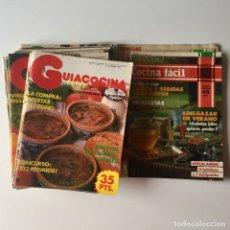 Coleccionismo de Revistas y Periódicos: LOTE 25 REVISTAS COCINA - GUIACOCINA - COCINA FÁCIL - CON LAS MANOS EN LA MASA - AÑOS 80. Lote 178859826
