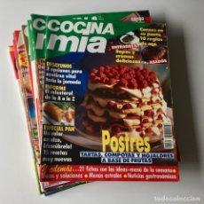 Coleccionismo de Revistas y Periódicos: LOTE 13 REVISTAS COCINA - COCINA MIA - COCINA FÁCIL DE LECTURAS - COCINAR HOY - AÑOS 90. Lote 178866023