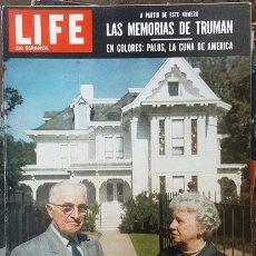 Coleccionismo de Revistas y Periódicos: 1955 LIFE ESPAÑOL LOS TRUMAN DE MISSOURI EISENHOWER NIXON PUERTO DE PALOS SHARON KAY MISS UNIVERSO. Lote 178866151