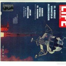 Coleccionismo de Revistas y Periódicos: LIFE EN ESPAÑOL. 7 DE ABRIL DE 1969. VOL. 33 Nº 7. Lote 178876382