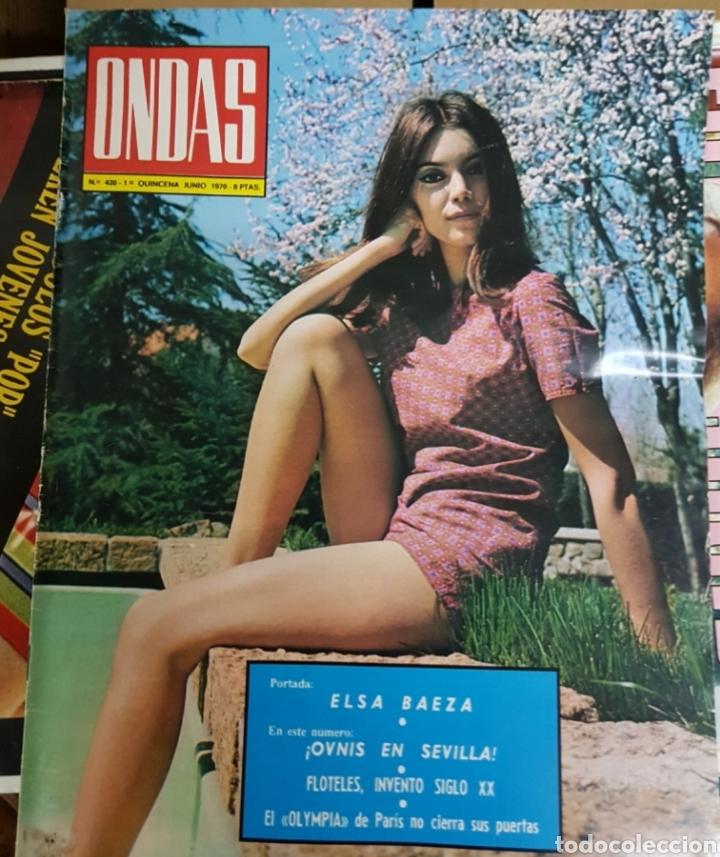 Coleccionismo de Revistas y Periódicos: Lote antiguas revistas - Foto 2 - 178880802
