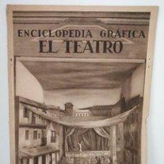 Coleccionismo de Revistas y Periódicos: ENCICLOPEDIA GRÁFICA TEATRO 1930. Lote 178887876